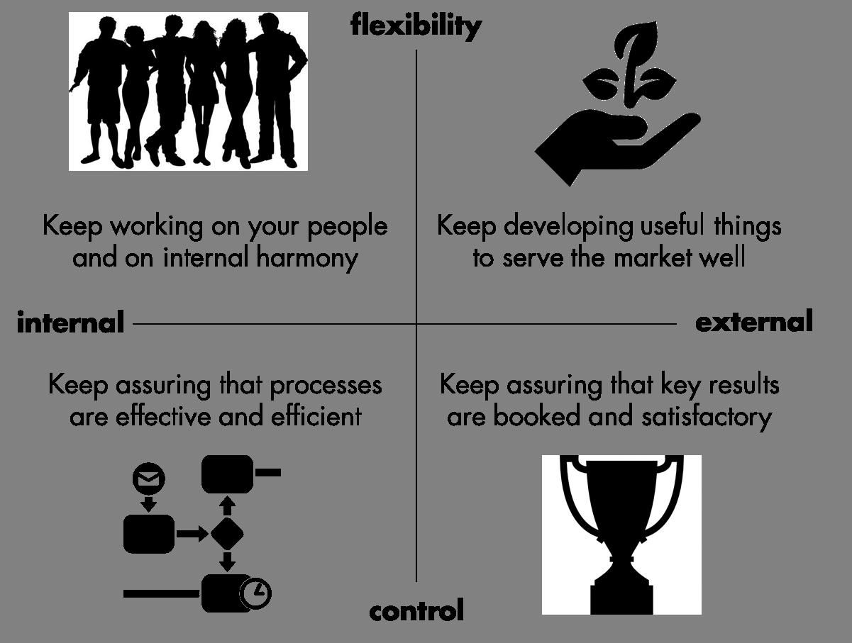 Quinn leadership framework